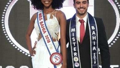Foto de Adrielle Bispo e Alexandre Chamusca eleitos Miss e Mister