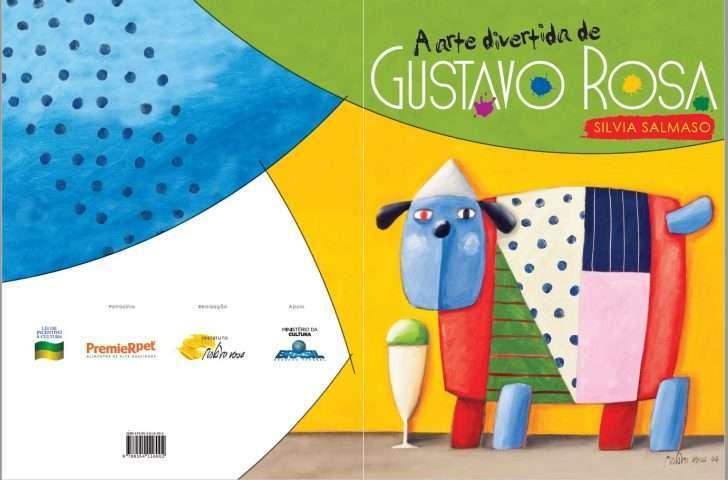 """Instituto lança livro """"A Arte Divertida de Gustavo Rosa"""" Foto divulgação."""