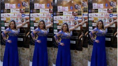 Foto de Apresentadora e atriz Viviane Alves comemora em grande estilo a festa de um ano do seu programa
