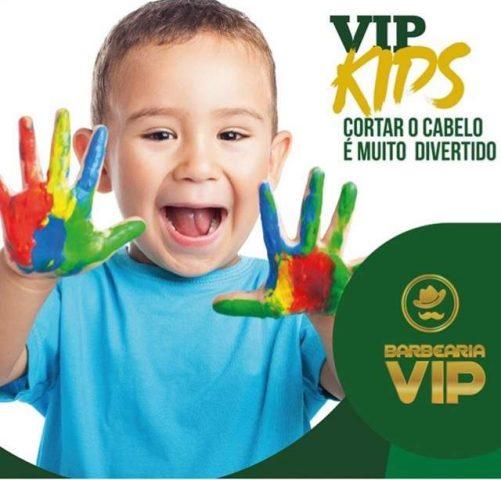 Dia das crianças na Barbearia VIP Itajaí dará presente aos pequenos clientes