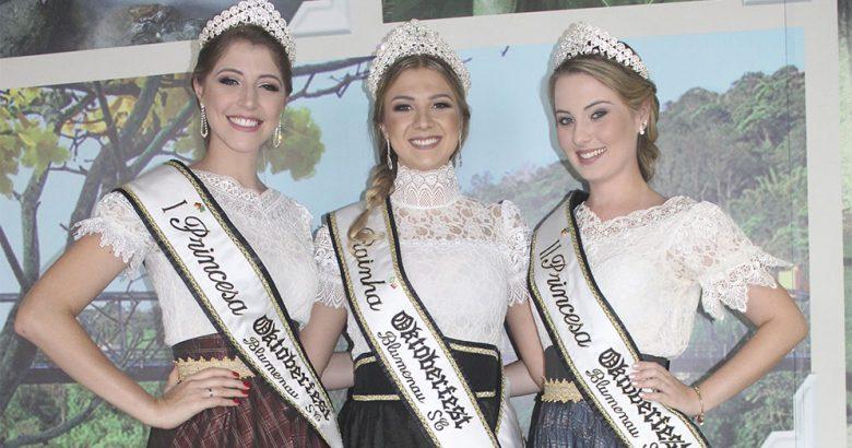 Concurso da Realeza da Oktoberfest Blumenau 2018 - Foto Divulgação
