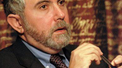 Foto de Tom Brasil recebe o Nobel Paul Krugman