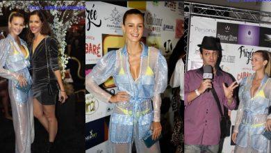 Foto de Fernanda Di Olive marca presença como uma das celebridades da Festa de 19 anos do TV Fama