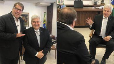 Foto de Ministro Marcos Pontes marca presença em programa especial da Rede Brasil de Televisão