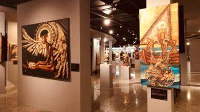 Foto de Exposição no Museu de Arte Sacra(MAAS)chama a atençãopara os problemas sociais