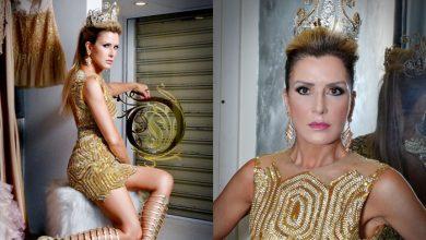 Foto de Angel é coroada nova Imperatriz da Bateria Bicampeã do carnaval de SP