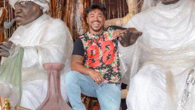 Foto de O ator e cantor Sebah Vieira é destaque na Escola de Samba Águia de Ouro