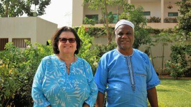 Foto de Delegação brasileira é recebida na sede da Embaixada do Brasil em Burkina Faso