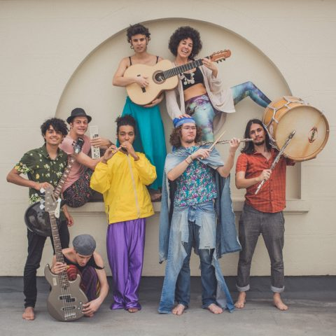 Intervenção sonora do grupo OMNI na Casa-Museu Ema Klabin Foto: Firmino Calixto