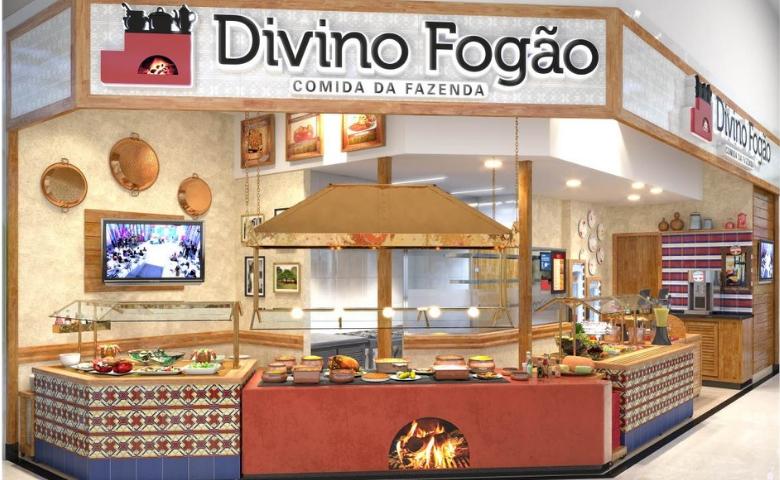 Divino Fogão inaugura unidade no Shopping ABC em SP