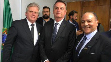Foto de Trade de turismo se apresenta ao Presidente Jair Bolsonaro