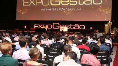 Foto de No painel Governança Corporativa da Expogestão 2019 alta performance e longevidade