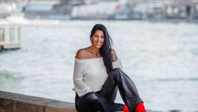 Foto de Modelo Juliana Omayra surge mais magra ao posar para fotos em Paris