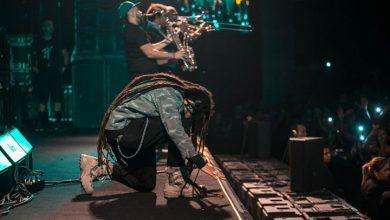 Foto de Marcelo Falcão estreou sua nova turnê e ainda cantou com Iza no Lollapalooza