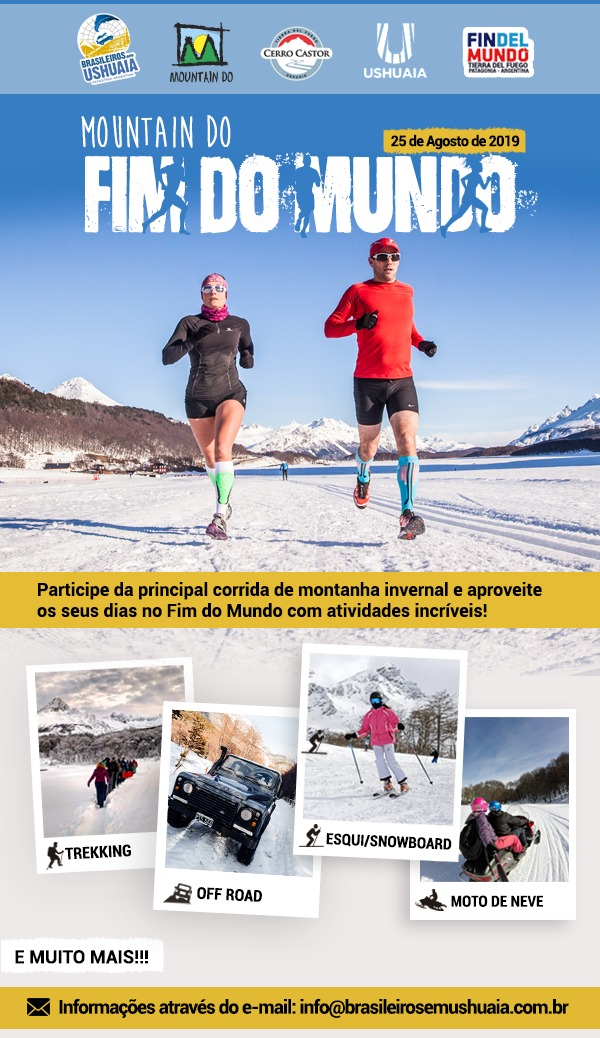 Mountain Do Ushuaia 2019 - maratona mais austral do planeta