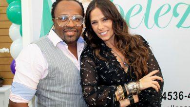 Foto de Claudinho Negritude Jr e Adriane Galisteu prestigiam Clinica de Estética em SP