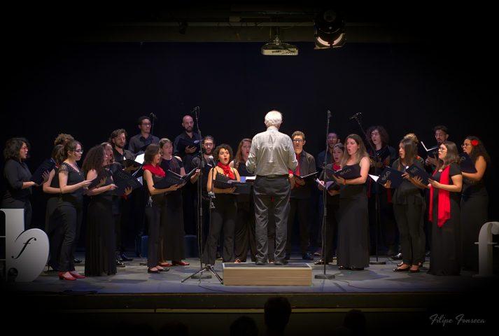 Concerto com o Coro de Câmara Comunicantus, da ECA-USP . Foto : Filipe Fonseca