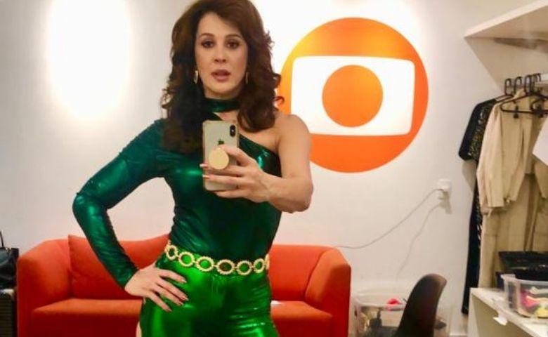 """Lidiane, interpretada por Cláudia Raia em """"Verão 90"""" - foto Claudia Raia"""