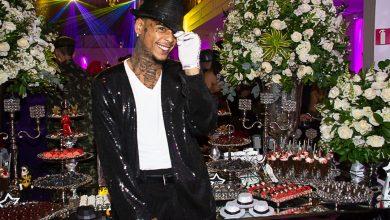 Foto de Mc Kevin comemora aniversário com festa à fantasia ao lado de famosos