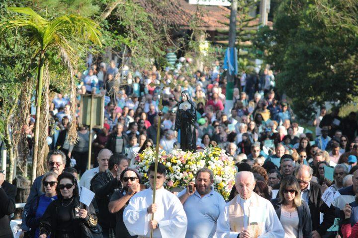 Festa de Santa Paulina está sendo preparada para mais de 20 mil devotos
