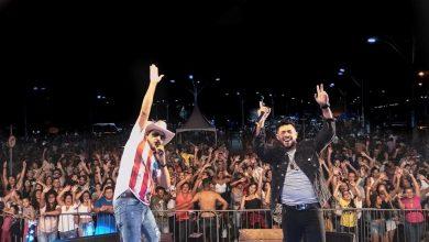 Foto de Roberty e Ruan lotam show em Mogi Mirim