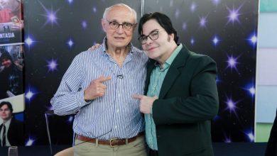 Foto de Eduardo Suplicy canta com Paulo Cremona e dá um show de intelectualidade