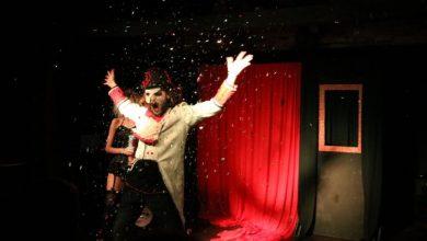 Foto de Cia Mosca Teatral  sobe ao palco para apresentar Dona Augusta, em Florianópolis