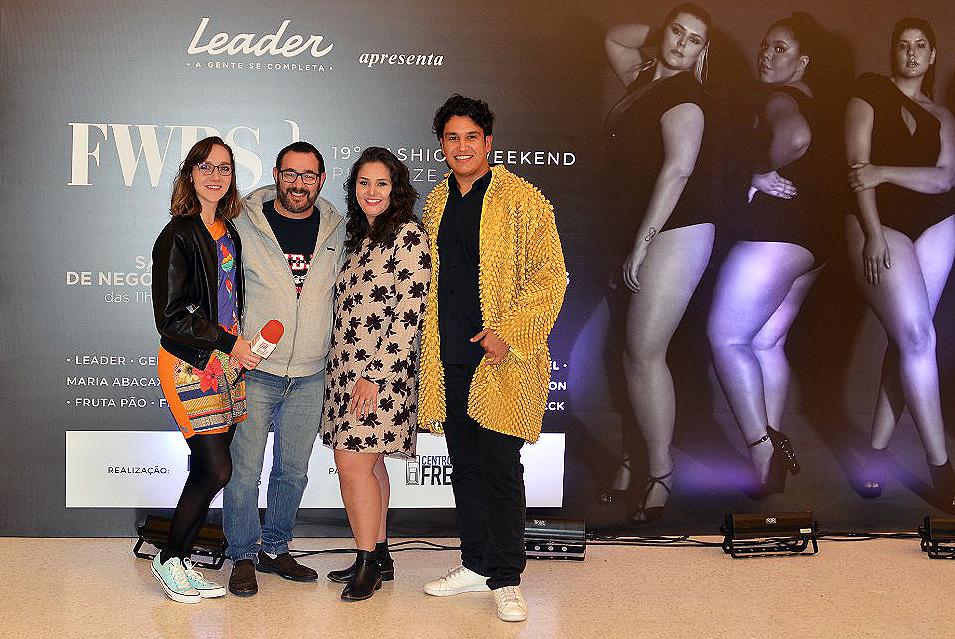 Larissa Sigrist, Reinaldo Dutra, Priscila Silveira e Samuel Aguiar