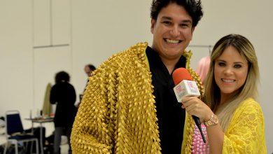 Foto de Fashion Weekend presença do influenciador Samuel Aguiar