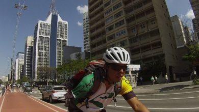 Foto de Ciclista que perdeu o braço em acidente ganha apoio de seguradora para voltar ao esporte