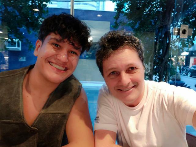 Samuel Aguiar chega a Balneário Camboriú