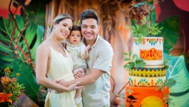 Foto de Safadão e Thyane Dantas celebraram primeiro ano de vida do filho Dom!