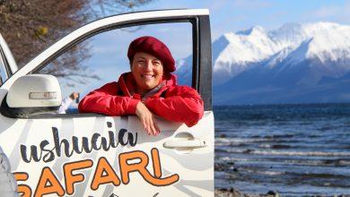 Foto de Elisabeth Schreiner, churrasqueira brasileira, é destaque na Patagônia Argentina
