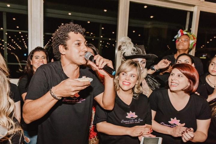 Lúcio Matias, Viviane Alves e Vanessa Goulart