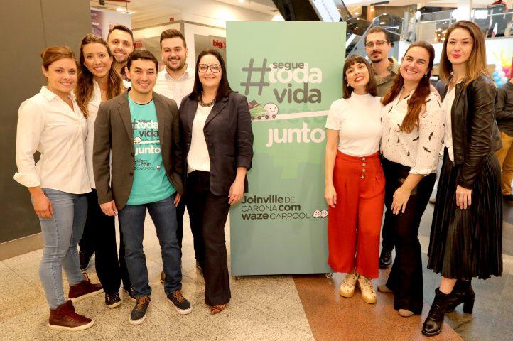 Waze Carpool e Exit apostam em expressões regionais para lançar campanha em Joinville