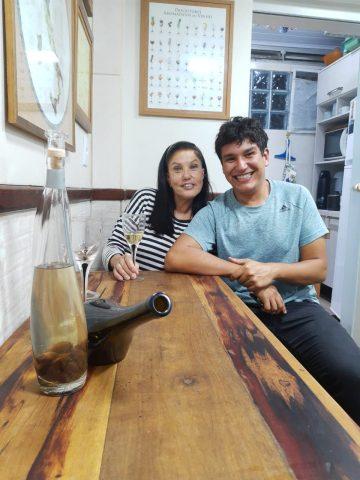 Marcia Maluf e Life Spokesman Samuel Aguiar