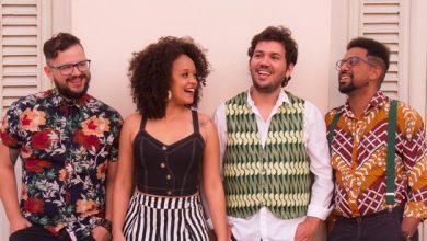 Foto de Elba Ramalho participa do show da Nathalia Bellar & Trio Dibuiá
