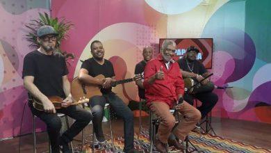 Foto de Programa Papo Em Dia Recebe a lenda do samba, Nelson Rufino