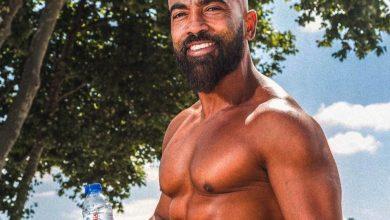 Foto de Nilton Bala o Personal Trainer brasileiro que se tornou o embaixador do fitness em Portugal