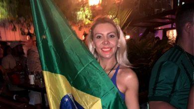 Foto de Tais Lima mata as saudades do Brasil no Brazilian Day em Nova York