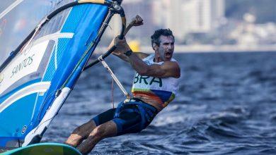 Foto de Bimba, confirma presença no maior evento de windsurf das Américas em Palhoça
