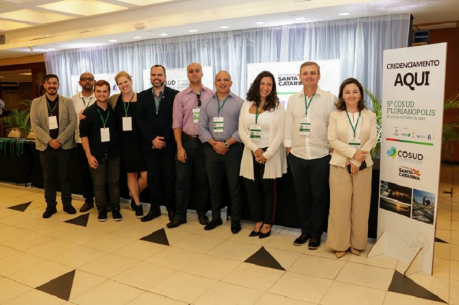 Grupo de Trabalho do Turismo de reuniu no 5º Encontro do Consórcio de Integração Sul e Sudeste.