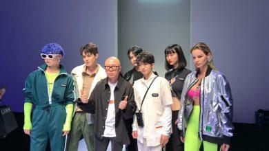 Foto de Fernanda Di Olive, Top Model brasileira, parou o Shanghai Fashion Week