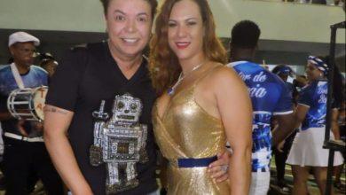 Foto de Musa da Sossego, Luciana Telles prestigia lançamento do carnaval 2020 da escola
