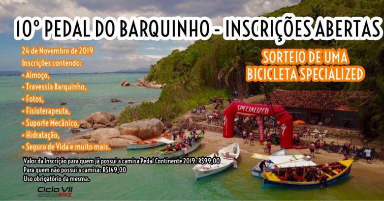 10ª Edição do Pedal do Barquinho - Florianópolis - SC