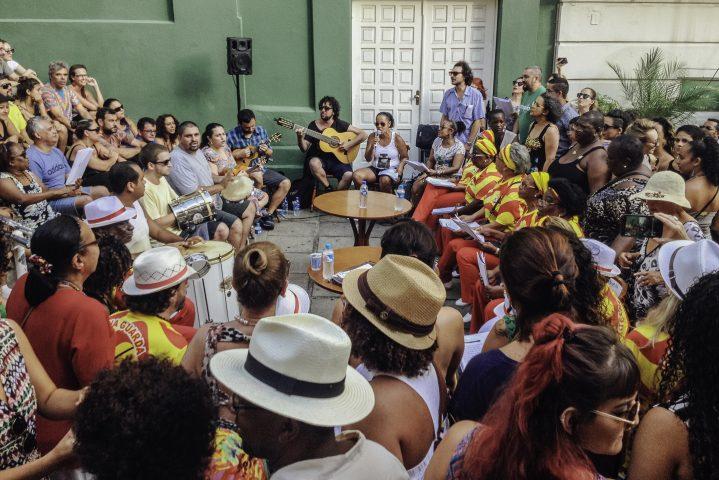 Samba de Terreiro tem apresentação gratuita nesta segunda-feira