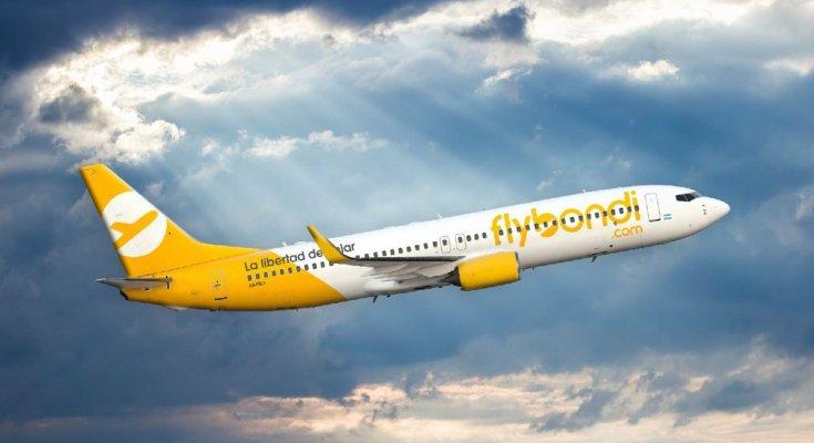 Low Cost Flybondi começa a voar pelos céus do Brasil