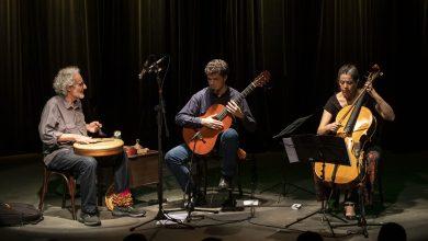 Foto de Daniel Murray, Adriana Holtz e Ari Colares se apresentam na Casa-Museu Ema Klabin