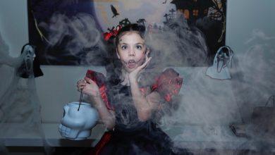 Foto de Halloween da atriz Mel Moreno está entre as atrações preferidas dos atores mirins