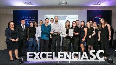 Foto de Termotécnica comemora a conquista do Troféu Prata do Prêmio Catarinense da Excelência 2019